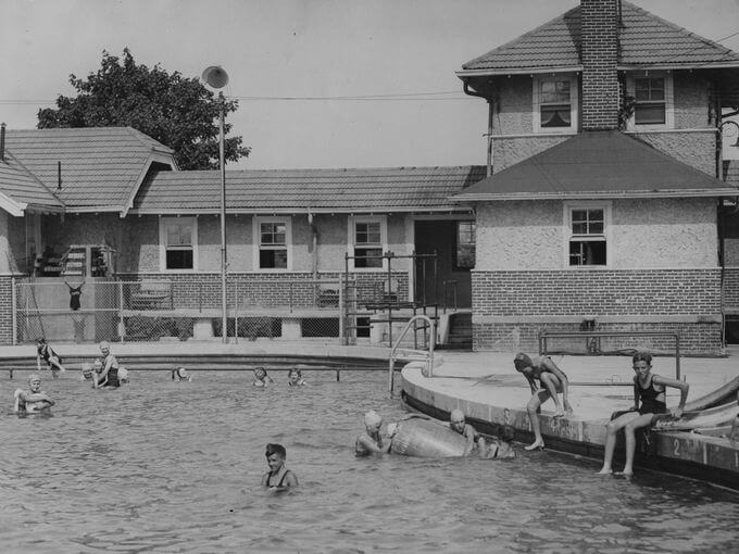 Forest Park Swimming Pool 40s or 50s